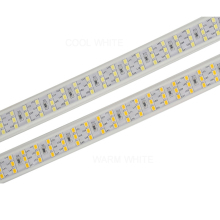 276Leds/m Three Row LED Strip 2835 220V 240V Waterproof LED Tape Rope Light Warm White Home Decoration Lighting