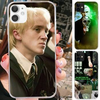 Diseny Draco Malfoy Phone Case For iPhone 7 8 Plus X XS Max XR Coque Case For iphone 5s SE 2020 6 6s 11Pro 12 image