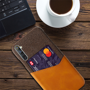 Image 5 - Card Slots Cover For OPPO Realme 6 X7 7 X50 5 Q2 Pro 5i Narzo 20A C17 C12 Business Case For Oppo F17 Reno4 Pro A12e A15 A72 A53