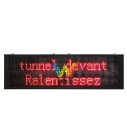 Портальная рамка дисплей p31,25 двухцветная наружная информация дисплей высокоскоростная дорога развивающая доска туннельный экран