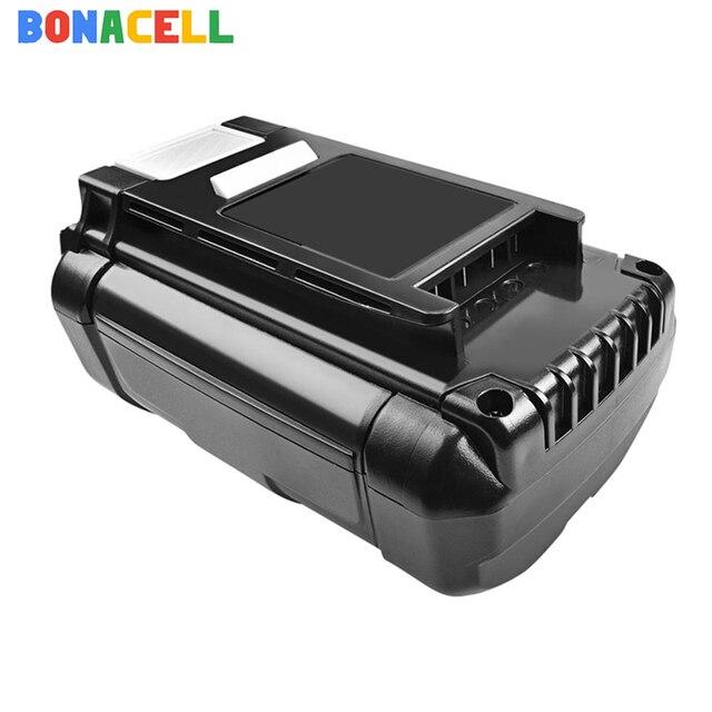 Bonacell 6000mAh Ryobi OP4050 교체 용 리튬 이온 배터리 40V RY40200 RY40403 RY4050 무선 스트링 트리머 배터리