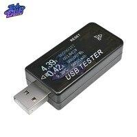 USB cargador de batería de DC 3-30V de corriente de voltaje de Ampere medidor de carga LCD del teléfono celular móvil Monitor de potencia