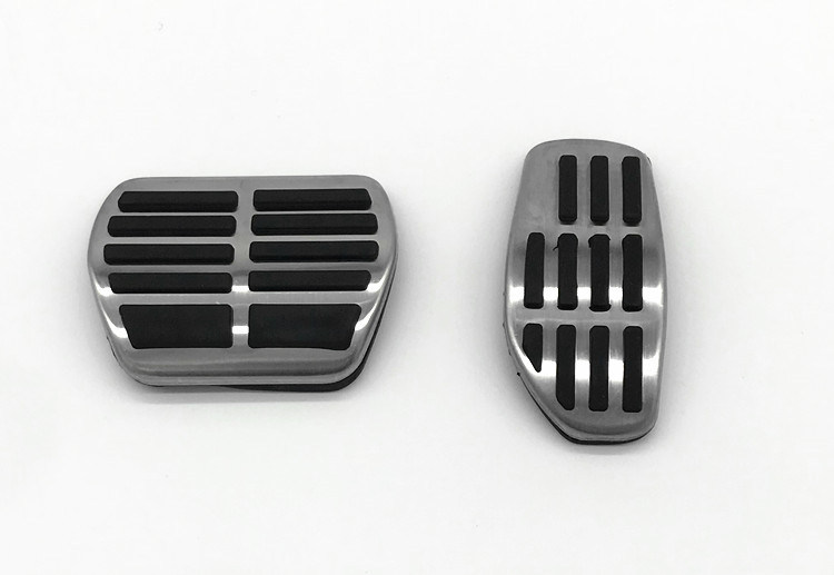 Car Gas Brake Pedal Cover Fit for Nissan X-Trail Rogue T32 Qashqai Rogue Sport J11 Kicks for Renault Koleos Kadjar Samsung QM6