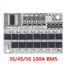 21V 100A 5S BMS Li-Ion LMO Ternary литиевая батарея Защитная печатная плата