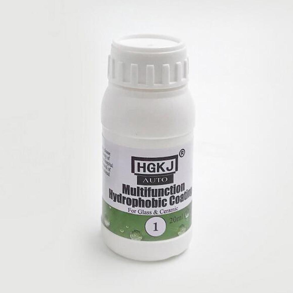 20ml Car Glass Nano Hydrophobic Coating Waterproof Agent Spray +Sponge Liquid Kit For Auto Glass Nano Hydrophobic Coating Water