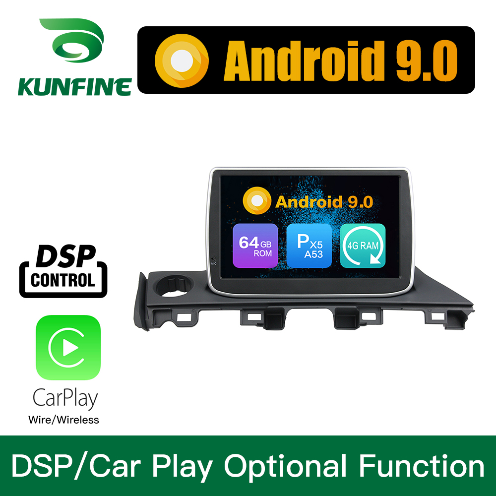 <font><b>Android</b></font> 9.0 Octa Core 4GB RAM 64GB Rom Car DVD GPS Multimedia Player Car Stereo for <font><b>Mazda</b></font> <font><b>6</b></font> <font><b>Atenza</b></font> 2017 Radio Headunit WIFI image