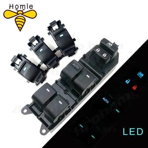 Image 1 - Lighted LED Power Single Window Switch set For Toyota RAV4 RAV 4 Camry Corolla Yaris Cruiser Vios Left driving backlight