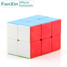 FanXin 2x2x3 Magic Cube 223 Professional Speed Puzzle Plastic Twisty Brain Teasers Antistress Educational Toys For Children