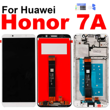 For Huawei Honor 7A Display Touch Screen Digitizer LCD Assembly for Huawe DUA-L22 L02 Frame Repair Replacement