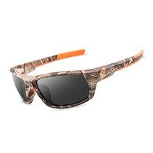 Мужские поляризованные солнцезащитные очки для рыбалки, камуфляжная оправа, уличные спортивные очки для велоспорта, мужские походные очки для рыбалки, рыбаков, UV400