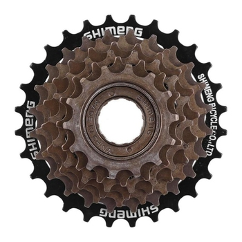 цена на Mtb Mountain Road Bike Freewheel Bicycle Flywheel Cog Cassette Metal Thread Sprocket Cycling Parts Accessorie