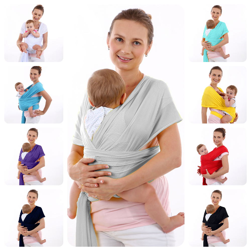 9 Colors Ergonomic Breathable Mesh Cross Holding Type Baby Sling Strap Multi-function Baby Child Carrier Suspender Waist Straps