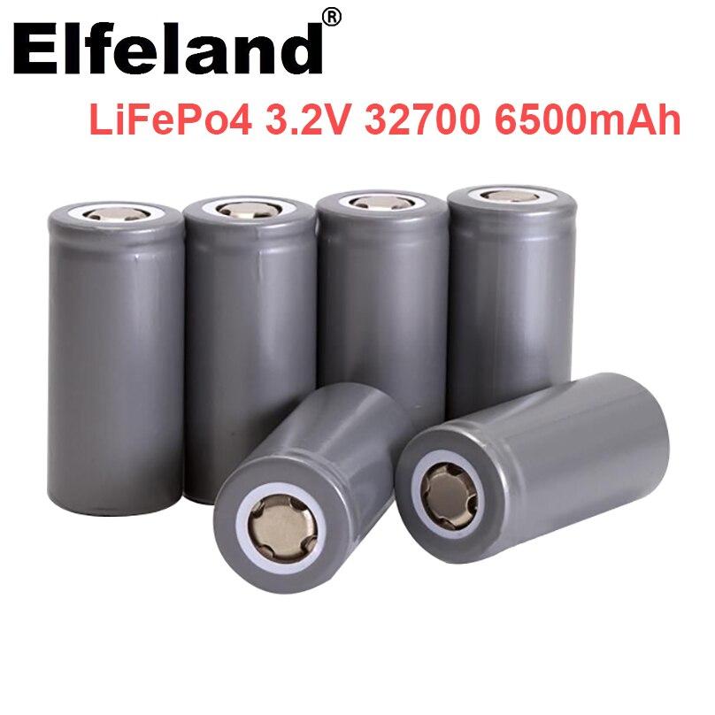 Elfeland 3,2 V 32700 6500mAh LiFePO4 batterie 35A kontinuierliche entladung max 55A