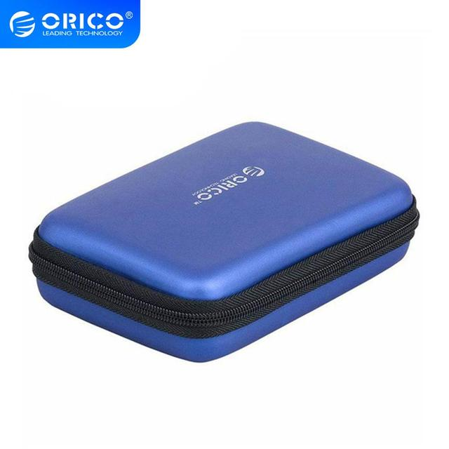 ORICO المحمولة القرص الصلب حمل الحال بالنسبة 2.5 بوصة HDD دعم حماية صادمة ومقاومة للماء حقيبة التخزين متعددة الوظائف