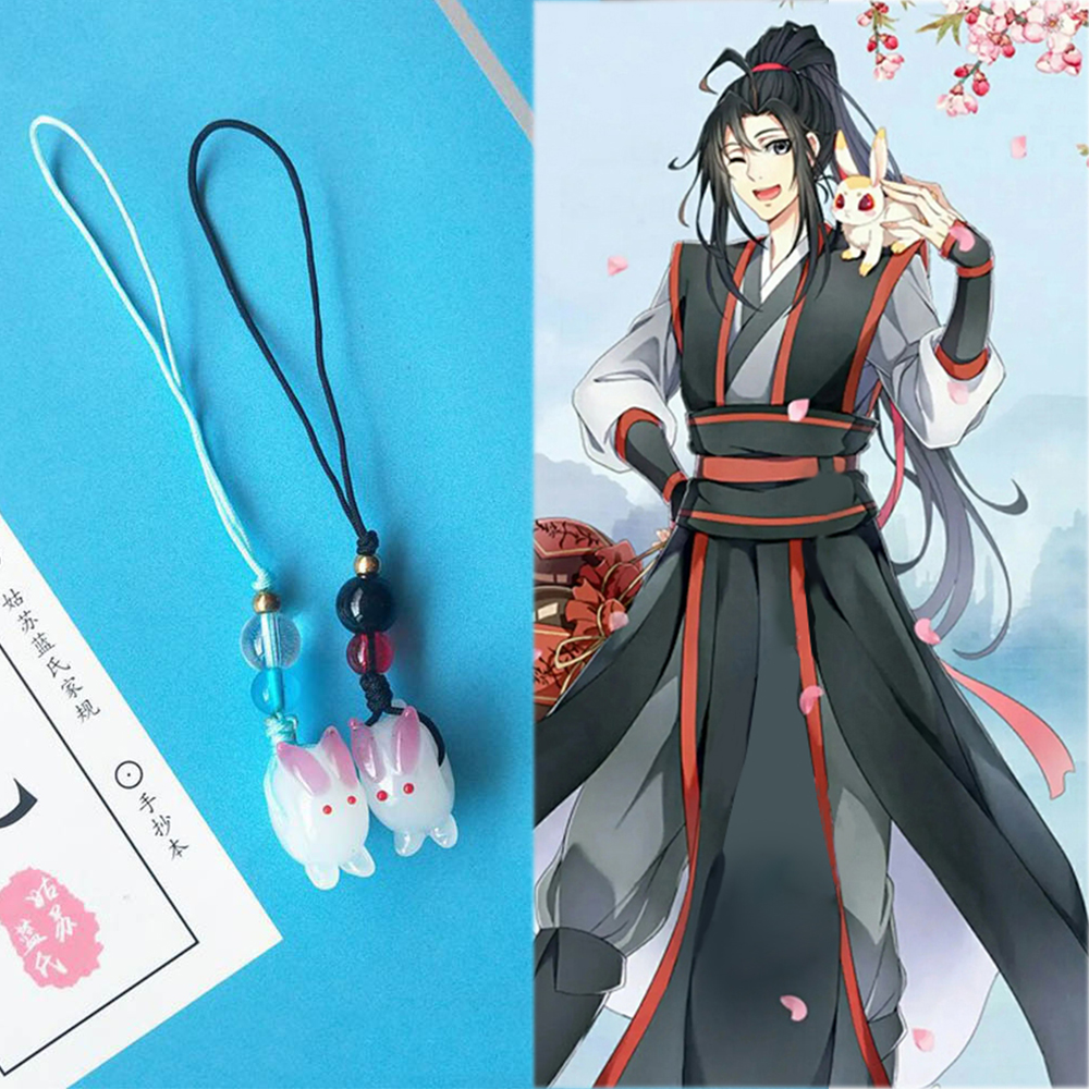 Handmade Diy Chen Qing Ling Phone Pendant Props Cosplay Keychain Key Ring Pendant Toy Gift Handbag Key Ring N27