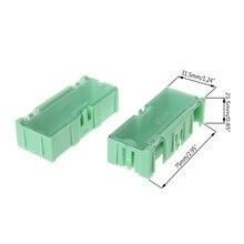 Мини SMD SMT электронная коробка IC электронные компоненты чехол для хранения 75x31,5x21,5 мм 40JE