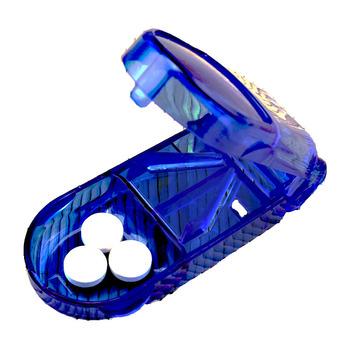 1 obudowa pc składana witamina medycyna lek 3 kolory opakowanie na tabletki organizator Tablet pojemnik do cięcia leków Pill Cutt Dropshipping EK tanie i dobre opinie Breathleshades Przypadki i rozgałęźniki pigułka Plastic Drug Cutting Box 9X3 5X2 5cm Pill cutter Pill Cases Splitters