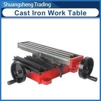 주철 작업 테이블 390x92mm sieg x2 밀링 머신 액세서리