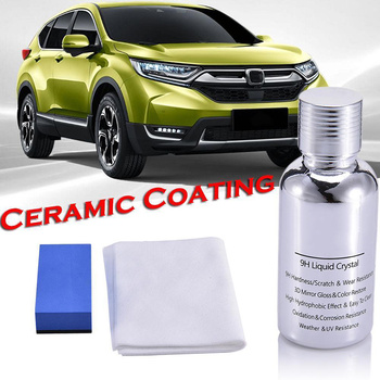Nano Car Coating Liquid Glass 9H Crystal Hardness Polish 30ML Bond Ceramic Super Hydrophobic Glass Coating 10ml 30ml 9h hardness car headlights care repair agent ceramic coat super hydrophobic glass polishing coating liquid repair tool