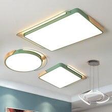 Современный светодиодный потолочный светильник macaron темно