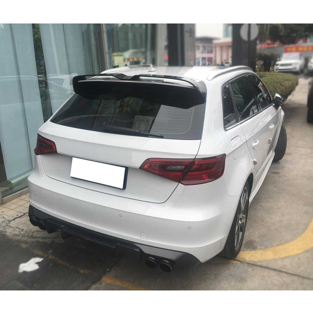 Carbon Fiber Frp Rear Roof Spoiler Window Wing For Audi A3 Sline S3 Rs3 Type 8v Hatchback 4 Door 2014 2018 Not For 2 Door Rear Roof Spoiler Roof Spoilercarbon Fiber Spoiler Wings Aliexpress