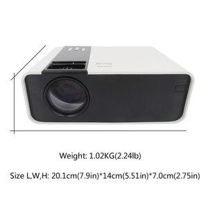 Image 2 - جهاز عرض صغير TD90 HD 720P LED ، جهاز عرض ليزر 4k للسينما المنزلية ، مع WiFi و VGA و AV