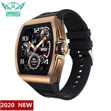 Amynikeer Smart Horloge M1 Business Man Vrouw Mode Armband Hartslag Monitoring IP68 Waterdicht Ondersteuning Android Ios Pk Iwo