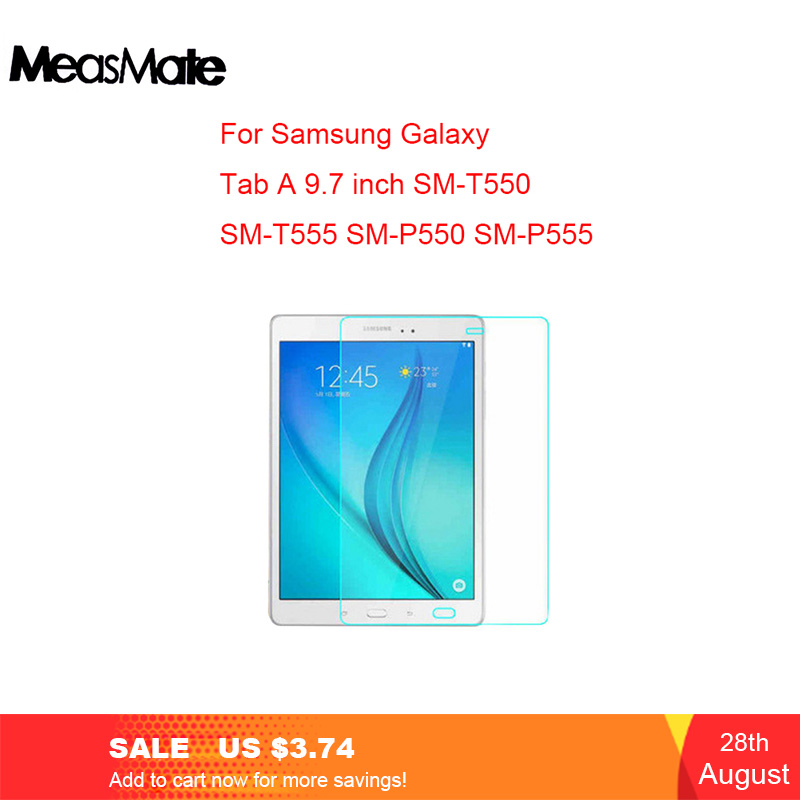 Screen-Protector Tempered-Glass T555 Samung T580 P580 P585 Galaxy Tab T585 T285 T550
