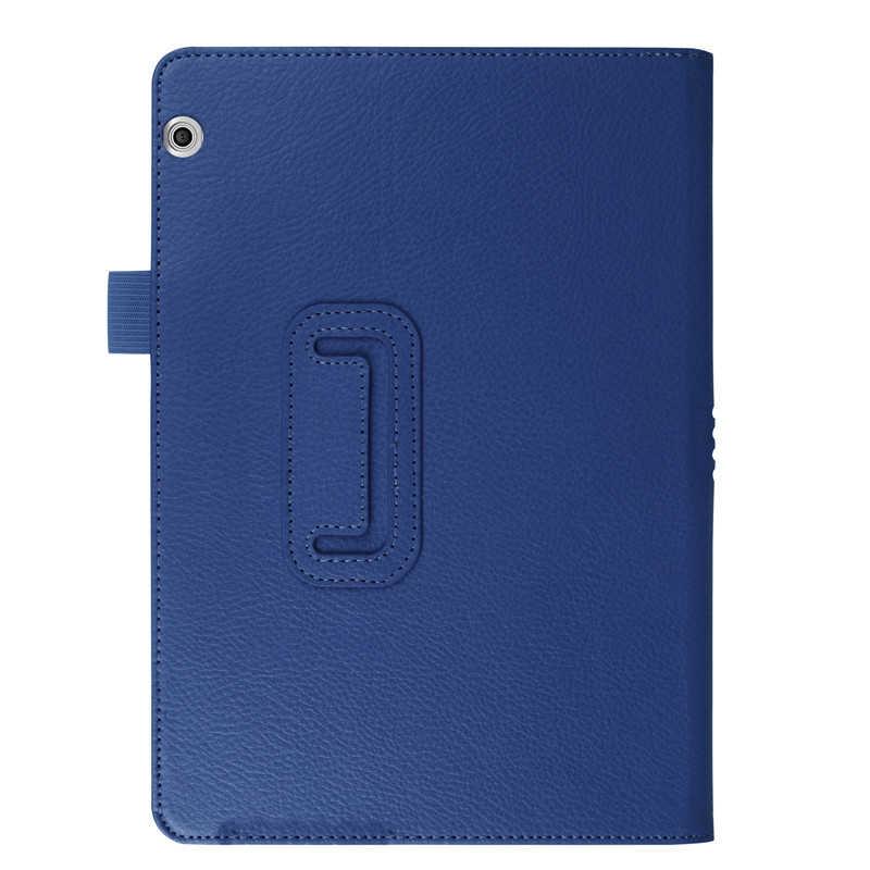 """Etui intelligent pour Huawei MediaPad T5 10 housse de tablette support rabattable en cuir pour Huawei MediaPad T5 10.1 """"AGS2-W09/L09/housse de protection"""