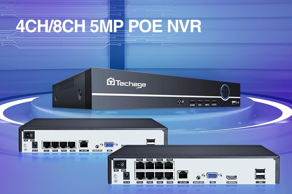 Enregistreur réseau de surveillance vidéo