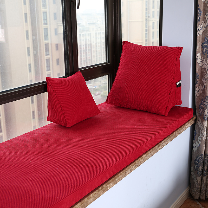 Solid Color Bench Cushion Thick Floor Cushion Removable Tatami Cushion Home Office Decoration Chair Cushion Free Shipping