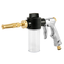 2019 New Electroplated foam gun high pressure car cleaning Household wash flushing ground Alloy water
