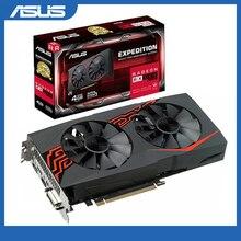 Asus EX RX580 2048SP 4G Card đồ họa 1284MHz 4G 7000MHz 256Bit DDR5 PCI Express 3.0 x16 Radeon RX 580 Máy Tính Card