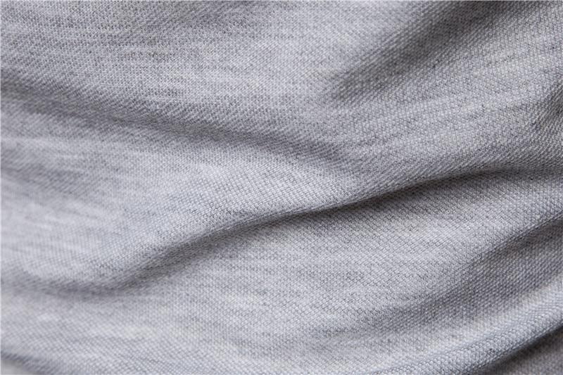 AIOPESON New Man Polo Shirt Mens Casual Deer Embroidery Cotton Polo shirt Men Short Sleeve High Quantity polo men 6