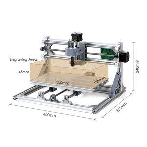 Image 5 - CNC3018 5500mW grawer laserowy DIY zestaw routera CNC 2 in 1 Mini laserowa maszyna grawerująca GRBL sterowania 3 osi rzeźbione w drewnie frezowanie