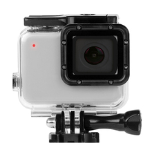New Hero7 45m Waterproof Case Housing For Gopro Hero 7 Silver & White Underwater Protection Shell Box Go pro Accessories