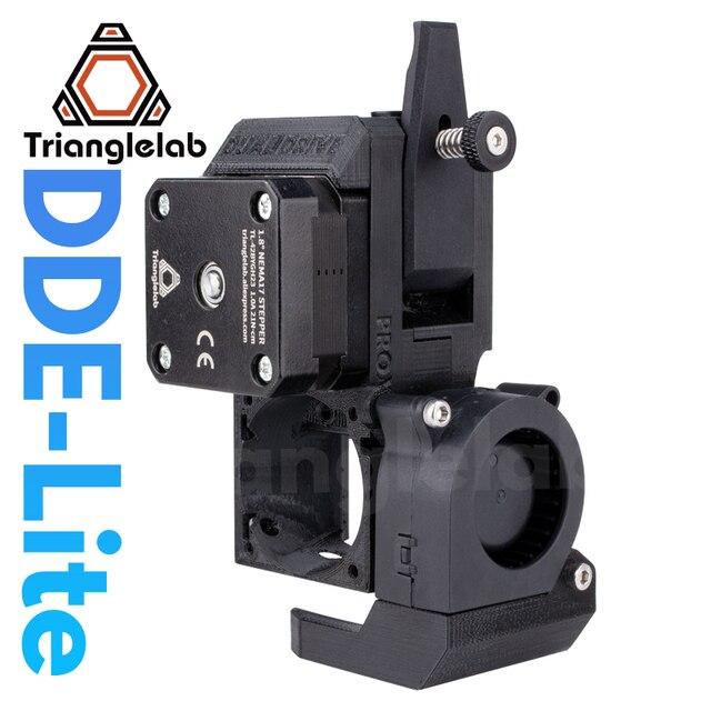 Trianglelab – extrudeuse à conduite directe DDE Lite, nouveau Kit de mise à niveau pour imprimante 3D série Creality3D Ender 3 CR 10S PRO