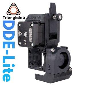 Image 1 - Trianglelab nowy zestaw dde lite z bezpośrednim napędem wytłaczarka lite do Creality3D Ender 3 CR 10S CR 10S seria PRO drukarka 3D