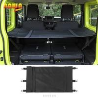 BAWA Stowing Tidying for Suzuki Jimny 2019+ Luggage Carrier Curtain Car Trunk Nets Car Organizer Accessories for Suzuki Jimny