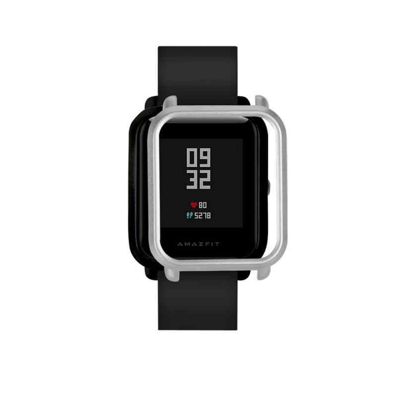 حافظة واقية غطاء حماية الكمبيوتر استبدال الإطار شل ل Huami Amazfit Bip الشباب ساعة ذكية اكسسوارات