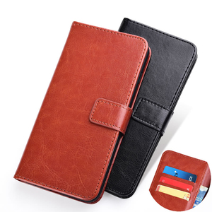 Wallet Case For Lenovo A5 K5 S5 K520 K9 Z5s K5s Z6 Pro Play Lite Case Vintage Flip Leather TPU Silicone Cover on Lenovo A6 Note(China)