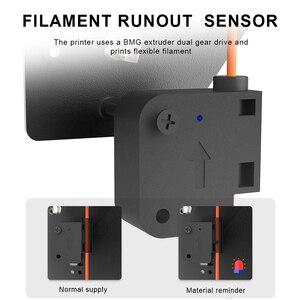 Image 5 - Livraison gratuite Flyingbear fantôme 5 plein cadre en métal haute précision bricolage 3d imprimante kit imprimante impresora plate forme en verre