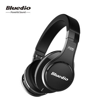 Bluedio U UFO Generation Over Ear Wireless Headphones High End 3D PPS Sound Patented 8 Drivers Bluetooth 5.0 Headset with Mic