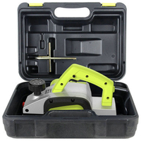 HLZS 1000W 2Mm High End Portable Multi Function Plastic Electric Planer Woodworking Planer Board Equipment