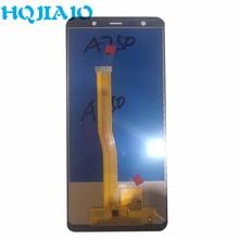 Prueba TFT para Samsung A750 pantalla LCD digitalizador de pantalla táctil para el modelo Samsung galaxy A7 2018 A750 A750F SM A750F A750FN
