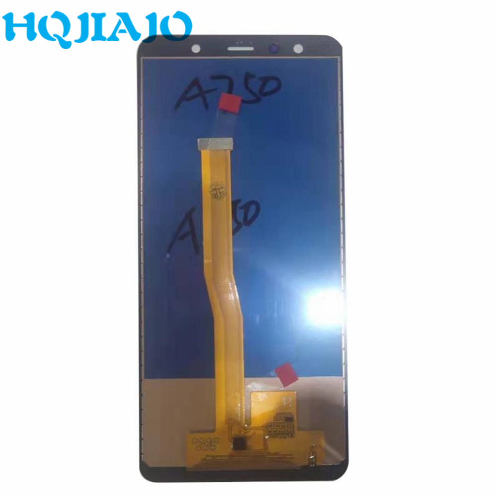 TFT Test For <font><b>Samsung</b></font> A750 <font><b>LCD</b></font> Display Touch Screen Digitizer For <font><b>Samsung</b></font> Galaxy <font><b>A7</b></font> 2018 A750 A750F SM-A750F A750FN image