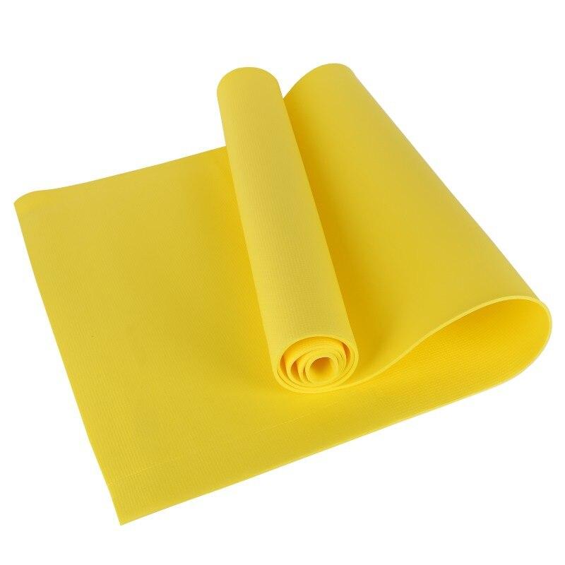 New 4MM PVC Yoga Mats Anti-slip Blanket PVC Gymnastic Sport Health Lose Weight Fitness Exercise Pad Women Sport Yoga Mat