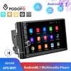"Podofo 2din Android8.1 Car Radio WIFI GPS navi Car Multimedia Player universal 7"" audio Stereo For Volkswagen Nissan Hyundai Kia"