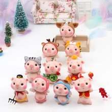 Jiwuo Модные женские игрушки «Свинка Пеппа» «сделай сам» кукла