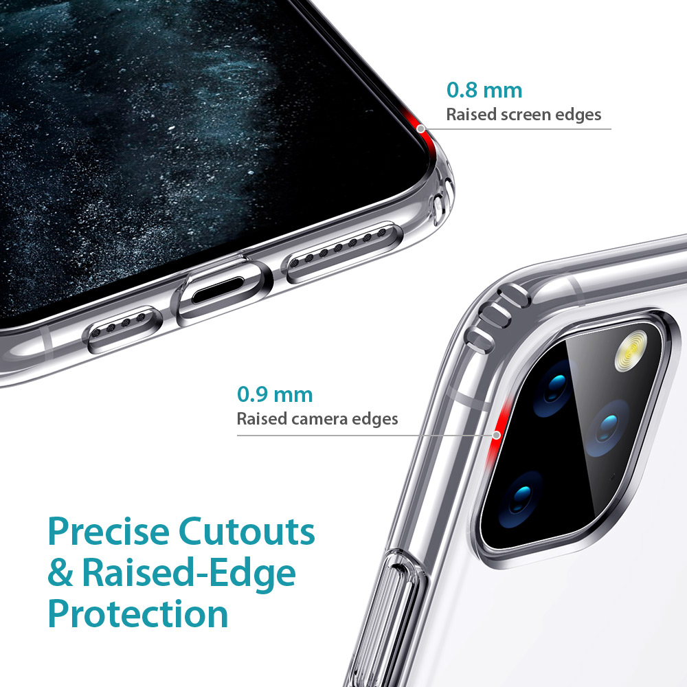 ESR Phone Case for iPhone 11 Pro 11Pro Max 2019 Metal Kickstand Vertical Soft TPU Bumper Stand Case Brand Cover for iPhone 11